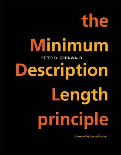Minimum Description Length Principle   2007 9780262072816 Front Cover