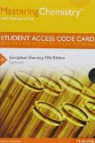MasteringChemistry with Pearson EText -- Standalone Access Card -- for Conceptual Chemistry  5th 2014 edition cover
