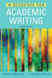 Sequence for Academic Writing  6th 2015 edition cover