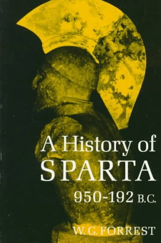 History of Sparta, 950-192 B. C.  Reprint  edition cover
