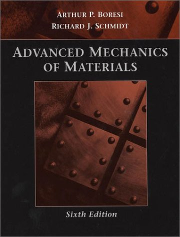 Advanced Mechanics of Materials  6th 2003 (Revised) edition cover