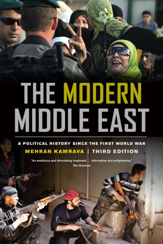 Modern Middle East A Political History since the First World War 3rd 2013 edition cover