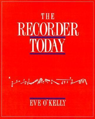 Recorder Today   1990 9780521366816 Front Cover