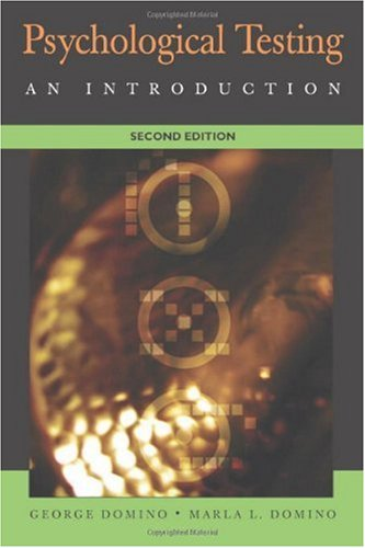 Psychological Testing An Introduction 2nd 2006 (Revised) edition cover