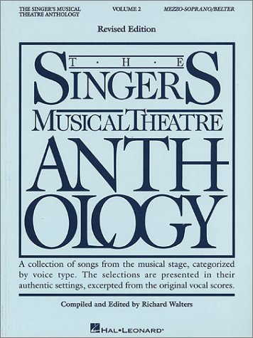 Singer's Musical Theatre Anthology Mezzo-Soprano and Belter N/A edition cover