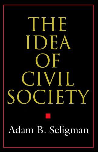 Idea of Civil Society   1995 edition cover