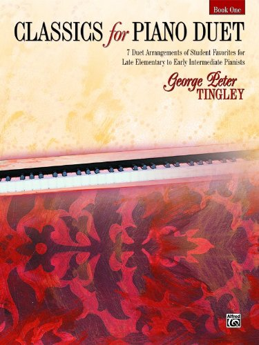 Classics for Piano Duet, Bk 1   2002 edition cover