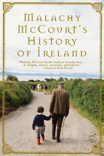 Malachy McCourt's History of Ireland   2008 edition cover
