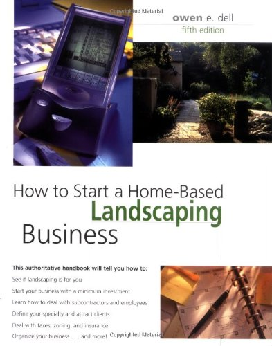How to Start a Home-Based Landscaping Business  5th 2006 edition cover
