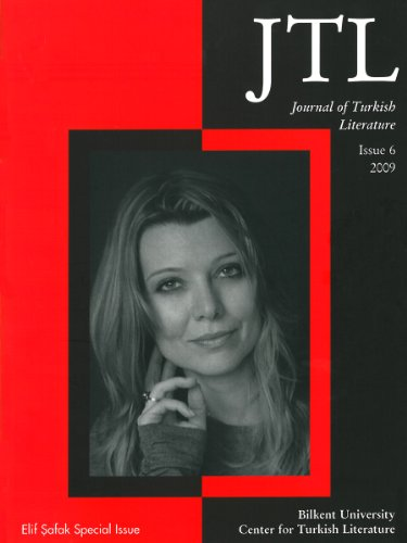 Journal Turkish Lit Volume 6 2009 6th 2010 edition cover