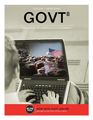 Govt 8:   2016 edition cover