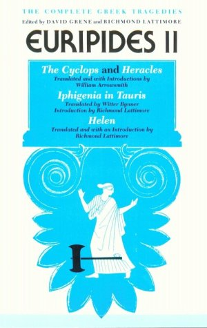 Complete Greek Tragedies Euripides II 2nd 2001 edition cover