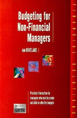 Budgeting for Non-Financial Managers  2nd 1997 9780273626817 Front Cover