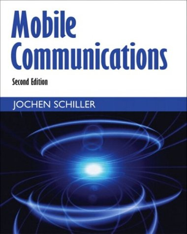 Mobile Communications  2nd 2004 (Revised) edition cover