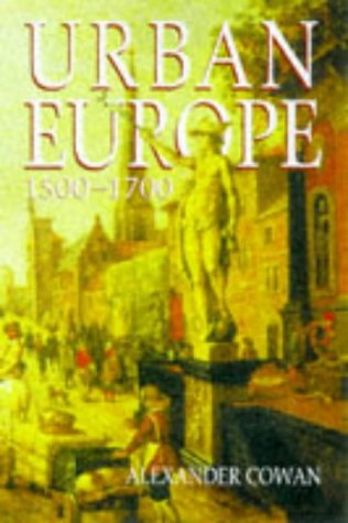 Urban Europe, 1500-1700   1998 edition cover