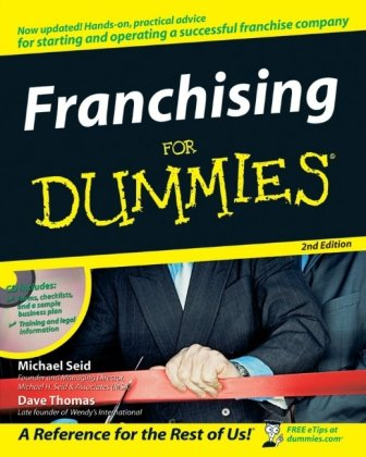 Franchising for Dummies�  2nd 2006 (Revised) edition cover
