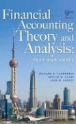 Financial Accounting Theory and Analysis Text and Cases 9th 2009 edition cover