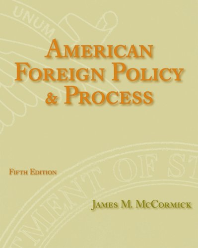 American Foreign Policy and Process  5th 2010 edition cover