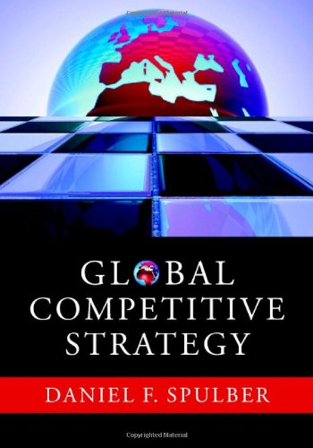 Global Competitive Strategy   2007 9780521880817 Front Cover