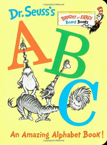 Dr. Seuss's ABC An Amazing Alphabet Book!  1991 9780679882817 Front Cover