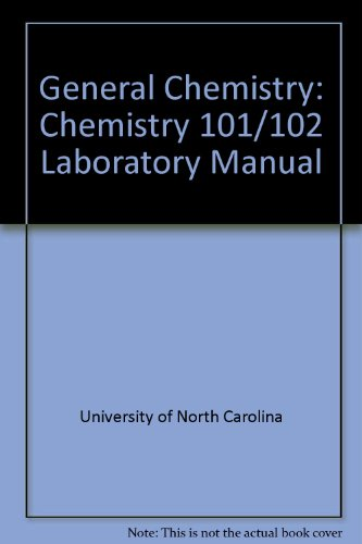 General Chemistry : Chemistry 101/102 2nd 2004 9780757513817 Front Cover