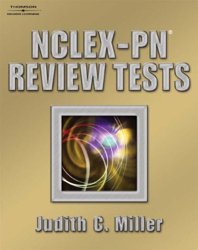 NCLEX-PN Review Tests  2005 9781401833817 Front Cover