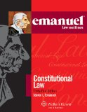 Emanuel Law Outlines - Constitutional Law  21st (Student Manual, Study Guide, etc.) edition cover