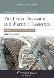 Legal Research and Writing Handbook 7e  7th 2014 edition cover