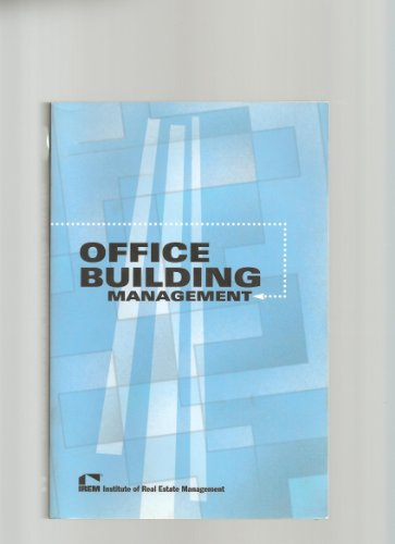 Office Building Management 1st 2002 edition cover