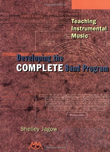 Teaching Instrumental Music Developing the Complete Band Program N/A edition cover