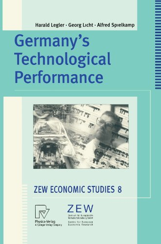 Germany's Technological Performance A Study on Behalf of the German Federal Ministry of Education and Research  2000 9783790812817 Front Cover
