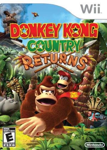 Donkey Kong Country Returns Nintendo Wii artwork
