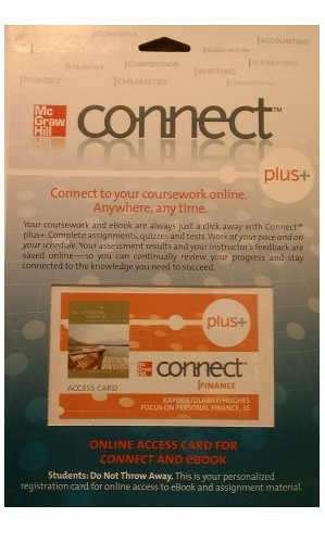 Focus on Personal Finance Connect Plus Access Card:   2009 edition cover