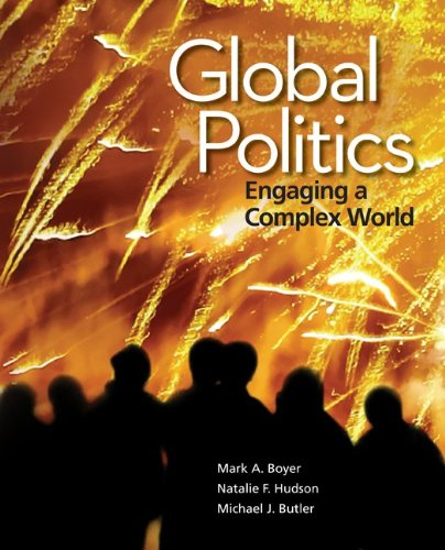 Global Politics Engaging a Complex World  2013 edition cover