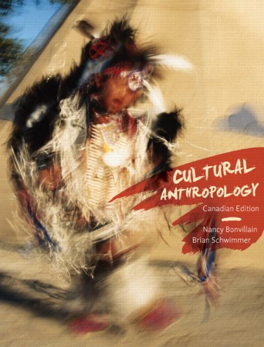 CULTURAL ANTHROPOLOGY >CANADIA N/A edition cover