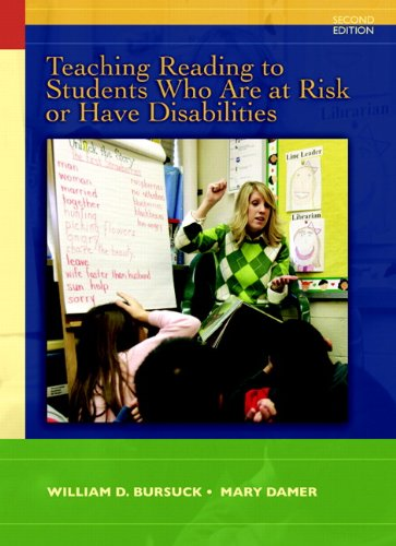 Teaching Reading to Students Who Are at Risk or Have Disabilities A Multi-Tier Approach 2nd 2011 edition cover