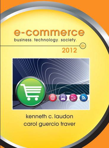 E-Commerce 2012  8th 2012 (Revised) edition cover