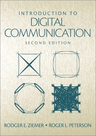 Introduction to Digital Communication  2nd 2001 edition cover