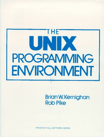 UNIX Programming Environment   1984 edition cover