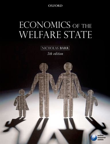 Economics of the Welfare State  5th 2012 edition cover