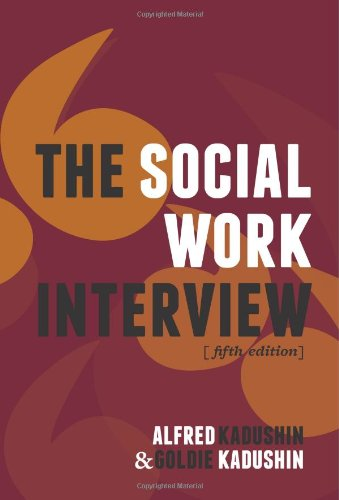 Social Work Interview  5th 2013 edition cover