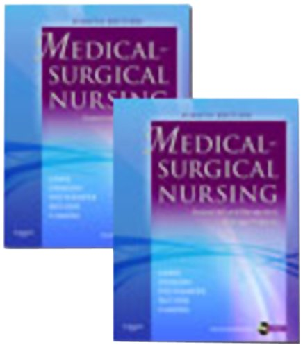 Medical-Surgical Nursing - 2-Volume Set Assessment and Management of Clinical Problems 8th 2010 edition cover
