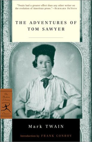 Adventures of Tom Sawyer   2001 edition cover