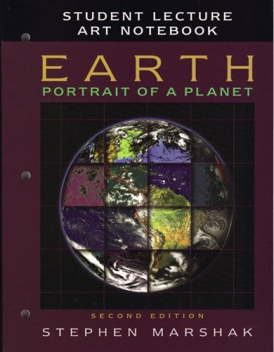 Earth: Portrait of a Planet Art Notebook  2nd 2005 edition cover