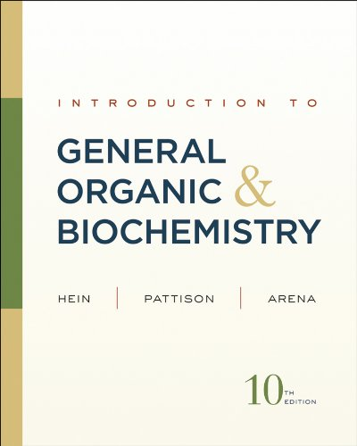 Introduction to General, Organic and Biochemistry  10th 2012 edition cover