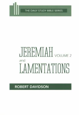 Jeremiah and Lamentations  N/A 9780664245818 Front Cover