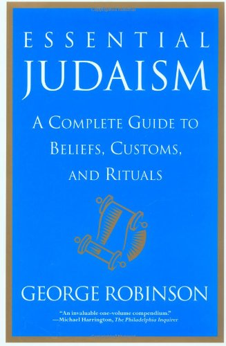 Essential Judaism A Complete Guide to Beliefs, Customs and Rituals  2000 edition cover
