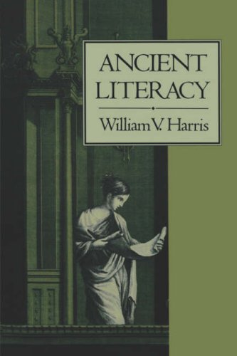 Ancient Literacy   1989 9780674033818 Front Cover