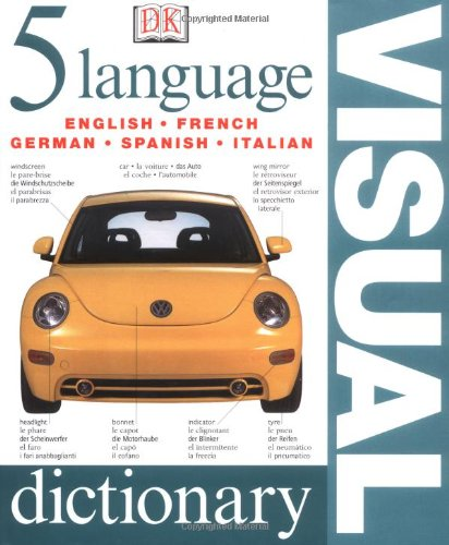 Five Language Visual Dictionary N/A 9780751336818 Front Cover