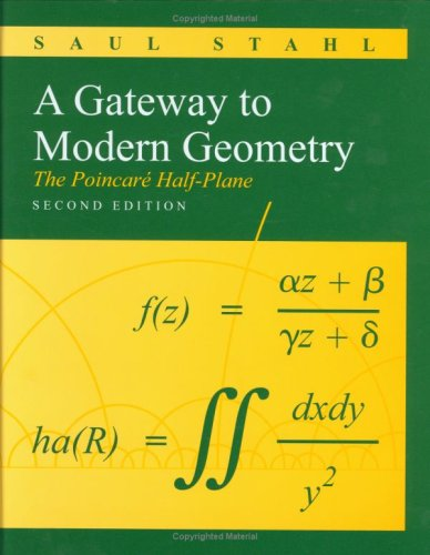 Gateway to Modern Geometry The Poincare Half-Plane 2nd 2008 (Revised) edition cover